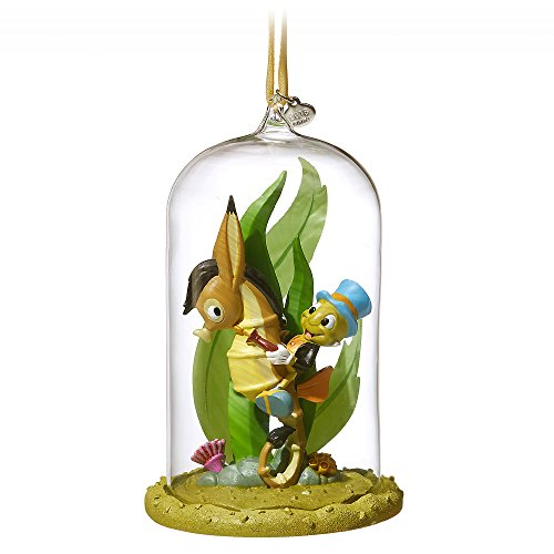 Disney Jiminy Cricket Glass Dome Sketchbook Ornament – Pinocchio