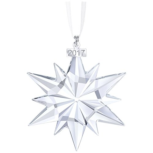 Swarovski 2017 Annual Edition Christmas Ornament (Authorized Dealer Guaranteed Authentic) New in Triangle Box
