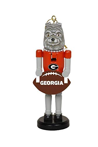 Santa's Workshop 6″ Georgia Football Nutcracker Ornament