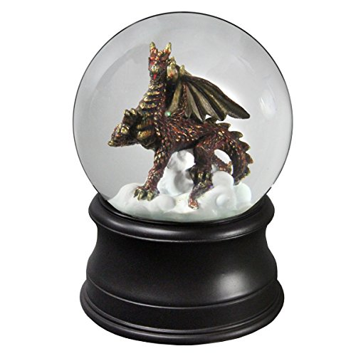 Golden Dragon Collectible Water Globe from The San Francisco Music Box Company