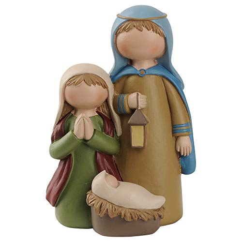 Blossom Bucket 188-11970 Holy Family with Lantern Suzi Skoglund Figurine