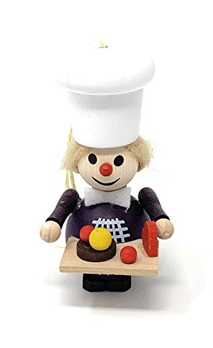 Steinbach Pastry Chef Confectioner Wood Christmas Ornament