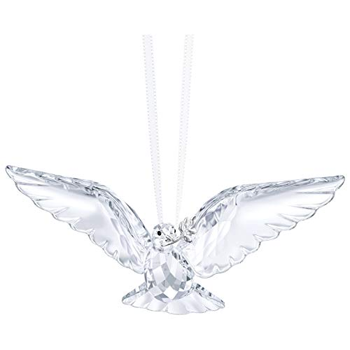 Swarovski Clear Peace Dove Ornament, Crystal, 2.6 x 7.2 x 3.5 cm