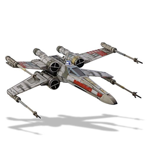 Hallmark Keepsake Christmas Ornament 2018 Year Dated, Star Wars X-Wing Starfighter With Light and Sound