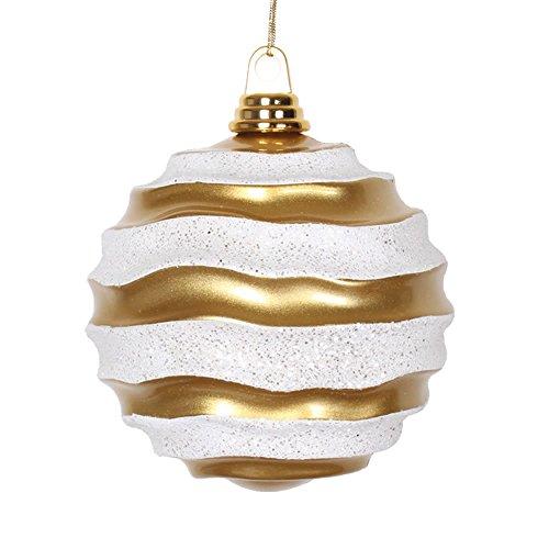 Vickerman Wave Ball Ornament