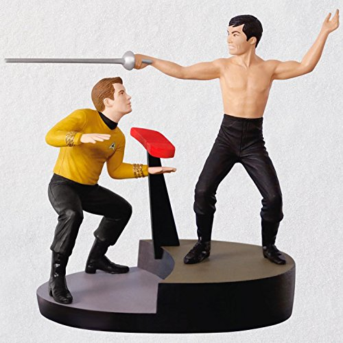 Hallmark Keepsake Christmas Ornament 2018 Year Dated, Star Trek The Naked Time with Sound