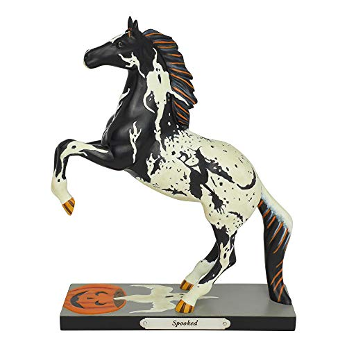 Enesco Trail of Painted Ponies Spooked Figurine 8″ Multicolor