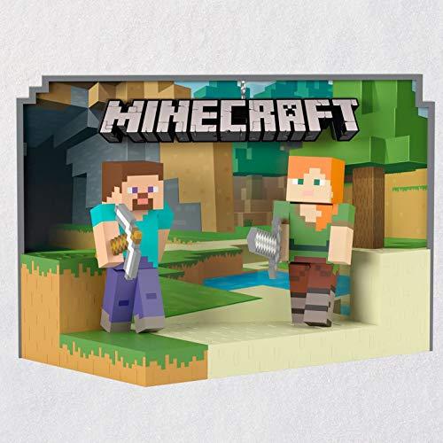 Hallmark Minecraft Steve and Alex Ornament Hobbies & Interests,Teen,Toys & Gaming