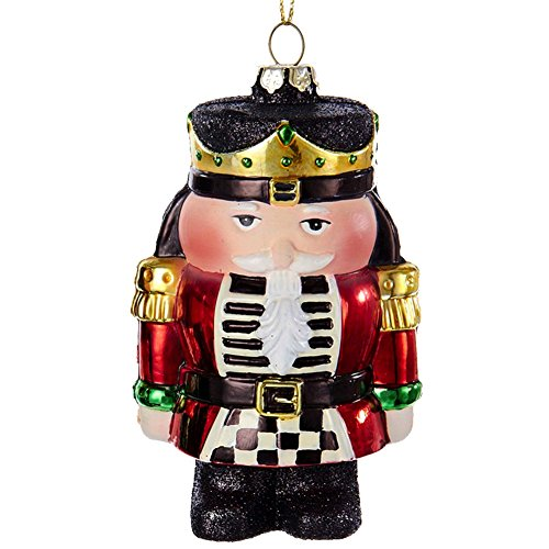 Christmas Ornament Nutcracker Red D2286-RED Kurt Adler