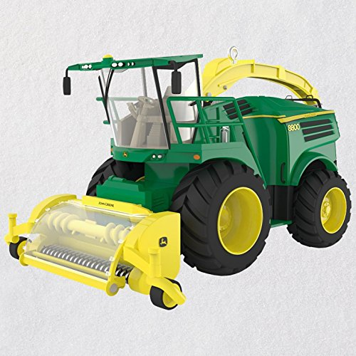 Hallmark Keepsake Christmas Ornament 2018 Year Dated, John Deere 8800 Self-Propelled Forage Harvester, Metal