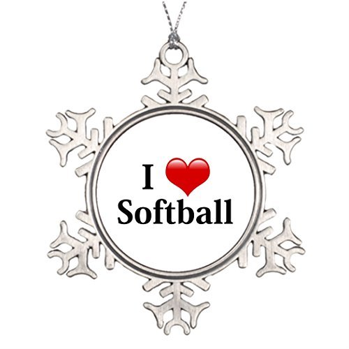 Metal Ornaments Ideas For Decorating Christmas Trees I Love Softball Images Of Christmas Decorations Sport