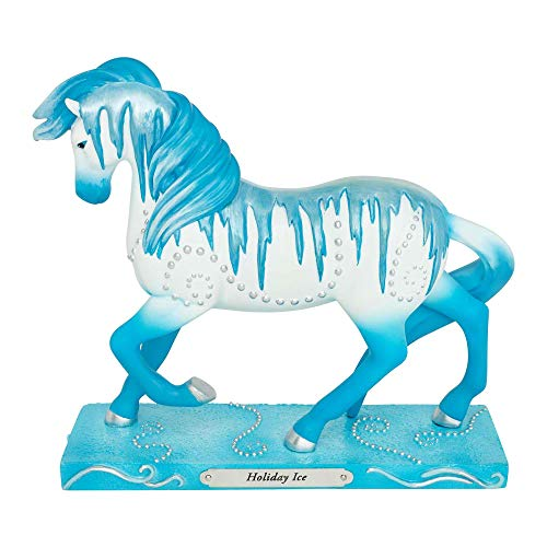 Enesco Trail of Painted Ponies Holiday Ice Figurine 7″ Multicolor