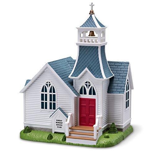 Hallmark Keepsake Christmas Ornament 2018 Year Dated, Joyful, Joyful We Adore Thee Church With Music