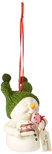 Department56 Snowpinions The Sweet Life Hanging Ornament 3″ Multicolor