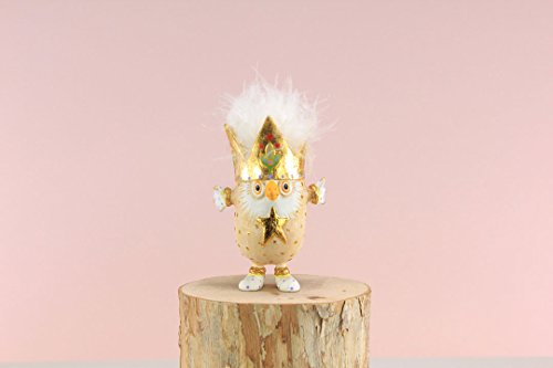 Patience Brewster Mini 3″ Otto Owl Figural Ornament # 31215