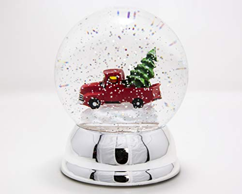 ReLive 6″ Red Truck Snow Globe