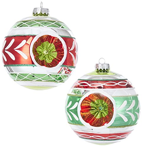 Kurt S. Adler YAMGG0832 Ornament Set 2 Piece