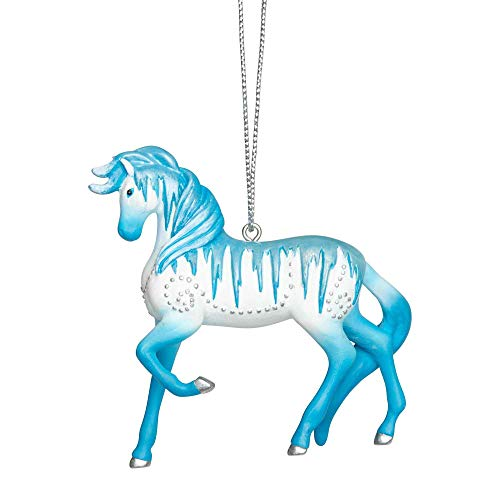 Enesco Trail of Painted Ponies Holiday Ice Hanging Ornament 2.6″ Multicolor