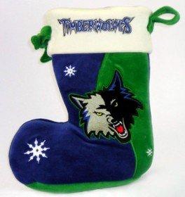 Caseys Minnesota Timberwolves 10″ Holiday Stocking