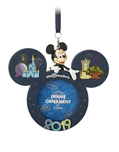 Walt Disney World 2019 Mickey Mouse Frame Ornament with Stand