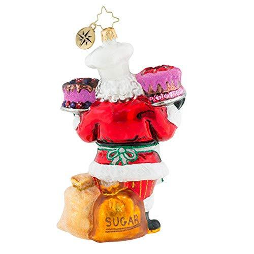 Christopher Radko Sugar And Spice Santa Christmas Ornament