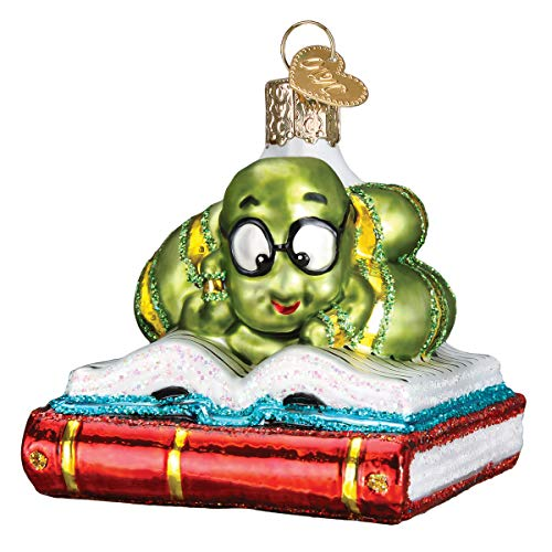 Old World Christmas 12514 Ornament Bookworm
