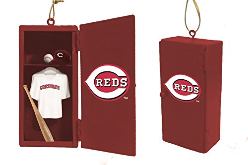 Team Locker Ornament, Cincinnati Reds