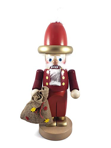 Steinbach Nutcrackers Wooden Chubby Golden Nico 12 Inches Tall Collectible Christmas Figures Kurt Adler Hand Made in Germany