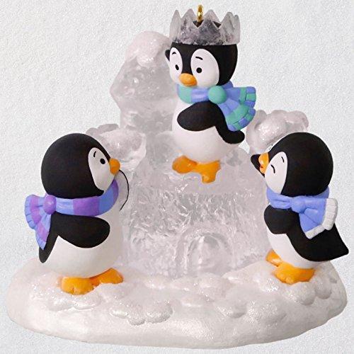 Hallmark Keepsake Christmas Ornament 2018 Year Dated, Penguins Ice Castle Antics