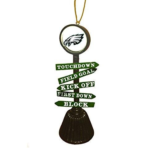 Team Sports America Philadelphia Eagles NFL Fan Crossing Ornament