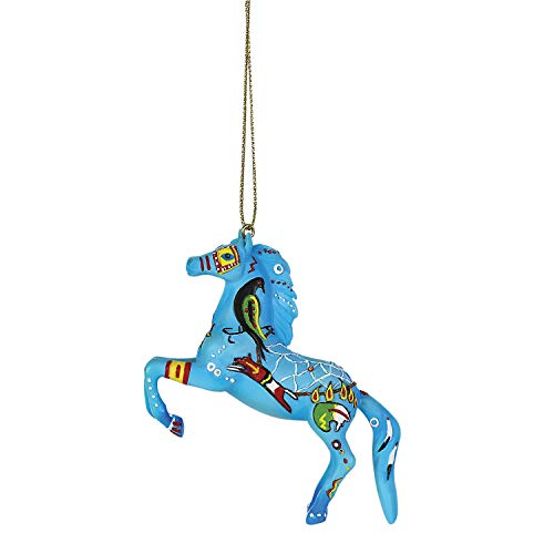 Enesco Trail of Painted Ponies Native Dreamer Hanging Ornament 2″ Multicolor