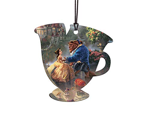 Trend Setters ACPTEACUP279 Hanging Acrylic 3.5″ x 3.5″ Beauty and The Beast Teacup