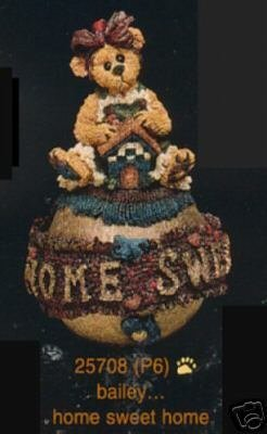 BOYDS ORNAMENT – BAILEY…HOME SWEET HOME #25708 by Boyd's