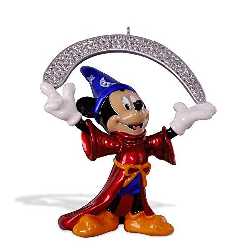 Hallmark Keepsake Christmas Ornament 2018 Year Dated, Disney Fantasia The Sorcerer's Apprentice, Metal
