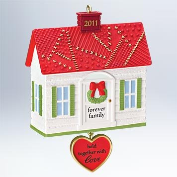 2011 Forever Family Hallmark Ornament – QXG4309