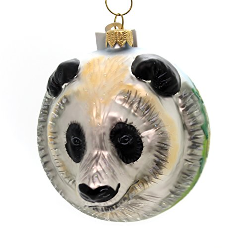 Christina's World Panda FIGURAL Glass Ornament Central China Zoo848