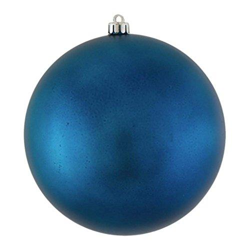 Vickerman 348840-3″ Sea Blue Matte Ball Christmas Tree Ornament (12 pack) (N590862DMV)