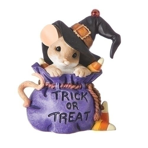 Charming Tails You're Bewitchingly Sweet Mouse in Trick or Treat Bag