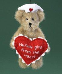 Eneco Boyds Bear Collection **5″ Nurse Bear Ornament** 4019162