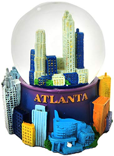 CityDreamShop Atlanta Skyline Large 65mm Snowglobe