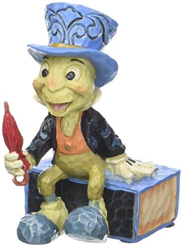 Enesco Disney Traditions by Jim Shore Pinocchio Jiminy Cricket Miniature Figurine, 2.75″, Multicolor