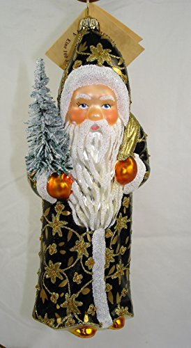 Gold Embroderie Santa – Made by Ino Schaller