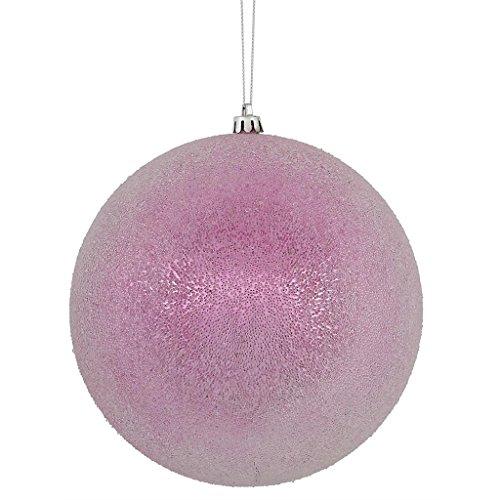 Vickerman 4″ Pink Iced Ball 4/Bx