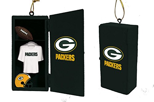 Team Sports America Green Bay Packers Team Locker Ornament
