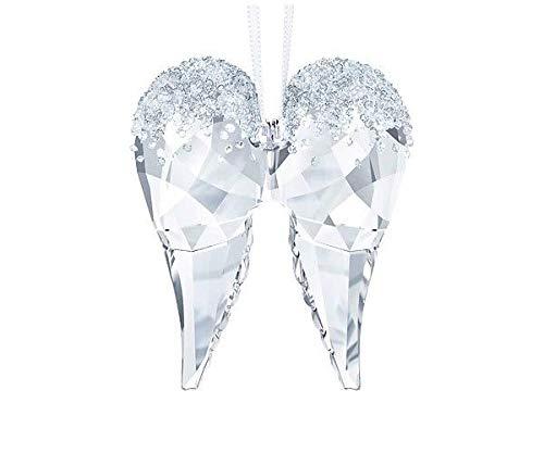 Swarovski Angel Wings Ornament, Crystal, Transparent, 5.2x 4.3x 1.5cm