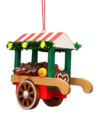 Alexander Taron 10-0633 Christian Ulbricht Ornament – Car Gingerbread – 2.75″ H x 3″ W x 1.5″ D Brown