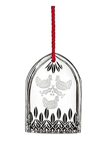 Waterford Annual 12 Days of Christmas Lismore Three French Hens Crystal Ornament by Waterford