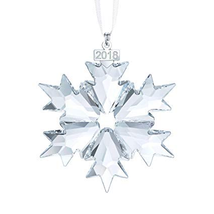 Swarovski Annual Edition 2018 Sparkling Clear Holiday Christmas Ornament