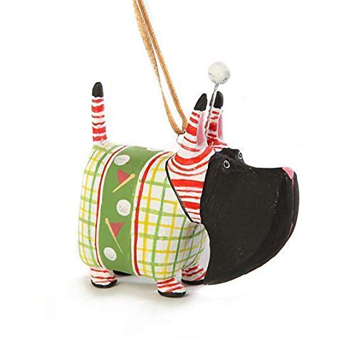 Patience Brewster Mini Angus Golf Scottie Figural Ornament