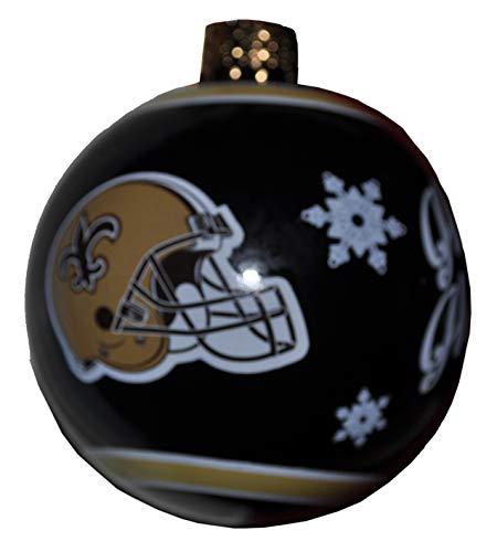 Harvey J New Orleans Saints Christmas Ornament